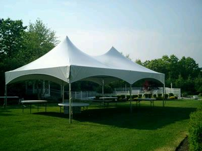20 Foot X 40 Foot White Frame Tent Rentals Longview Tx