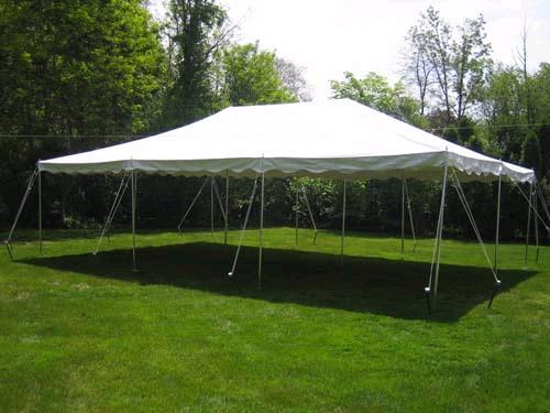Where to find 20  X 30  WHITE POLE TENT in Longview