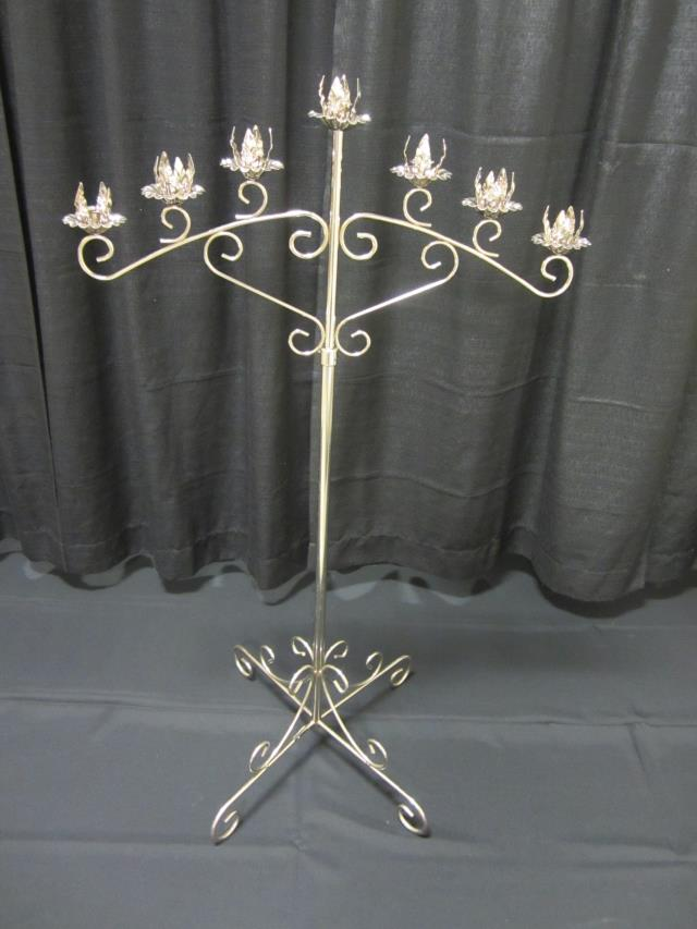 Where to find 7 LIGHT SILVER NON-ADJUSTABLE CANDELABRA in Longview