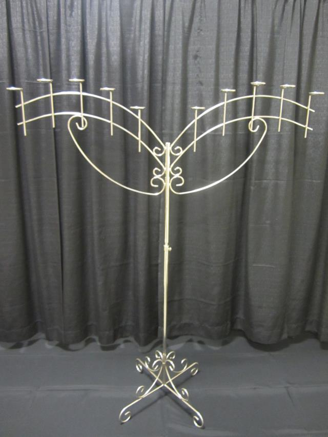 Where to find 10 LIGHT SILVER ANGEL WINGS CANDELABRA in Longview