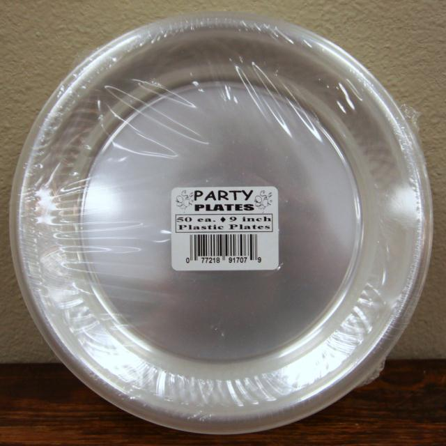 Where to find 9  PLASTIC PLATE 50 CT in Longview