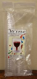 Rental store for 5 OZ PLASTIC WINE 25 CT in Longview TX