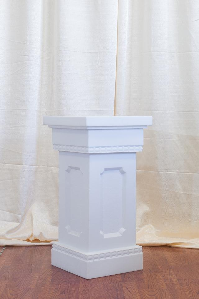 Where to find 36  WHITE SQUARE COLUMN in Longview