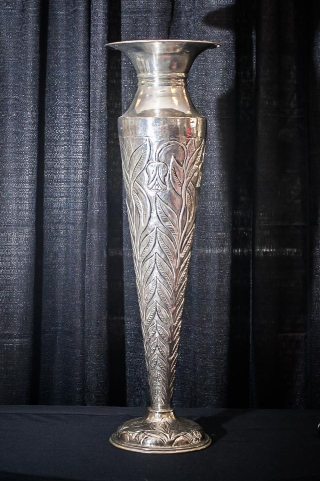36 Inch X11 Inch Silver Victorian Vase Rentals Longview Tx Where To