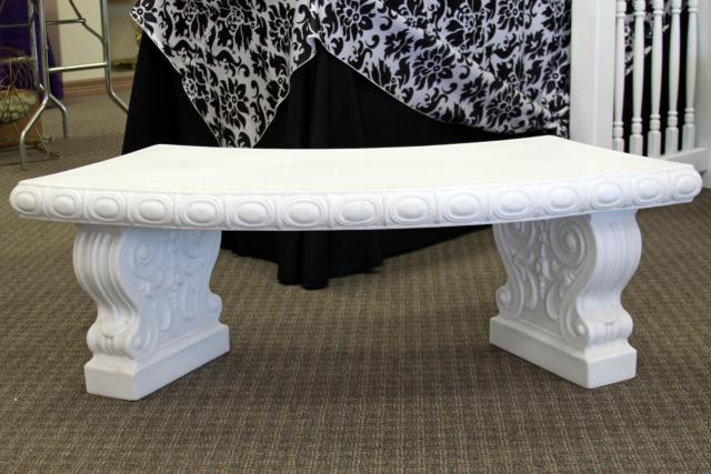 Where to find WHITE GARDEN BENCH in Longview