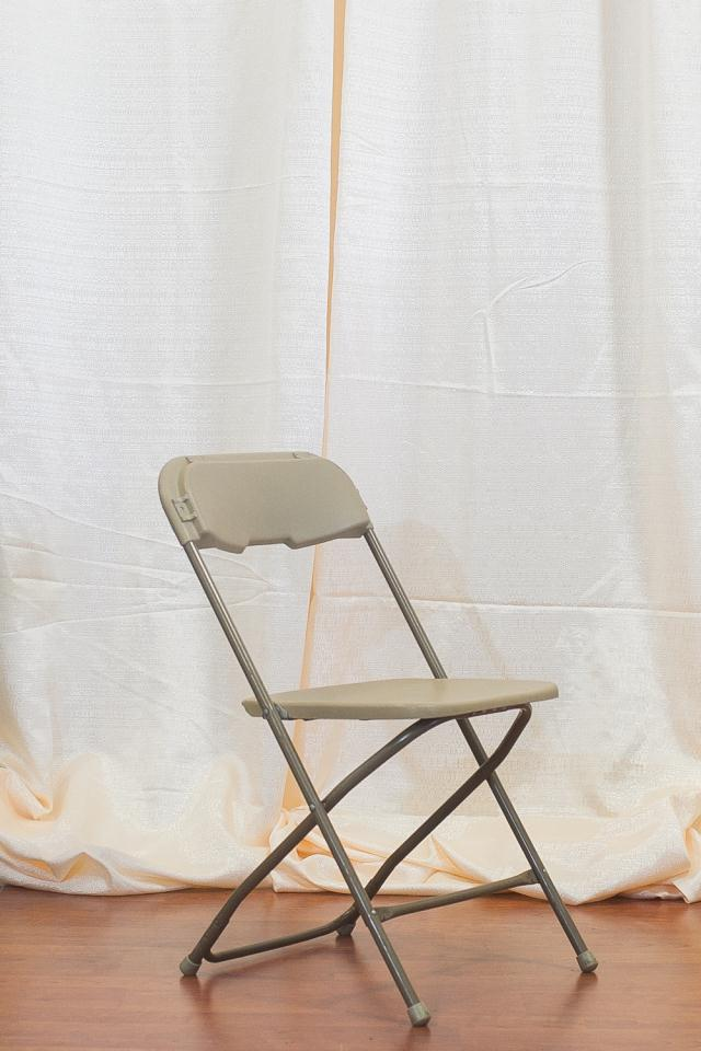 TAN PLASTIC FOLDING CHAIR Rentals Longview TX Where To Rent TAN PLASTIC FOLD