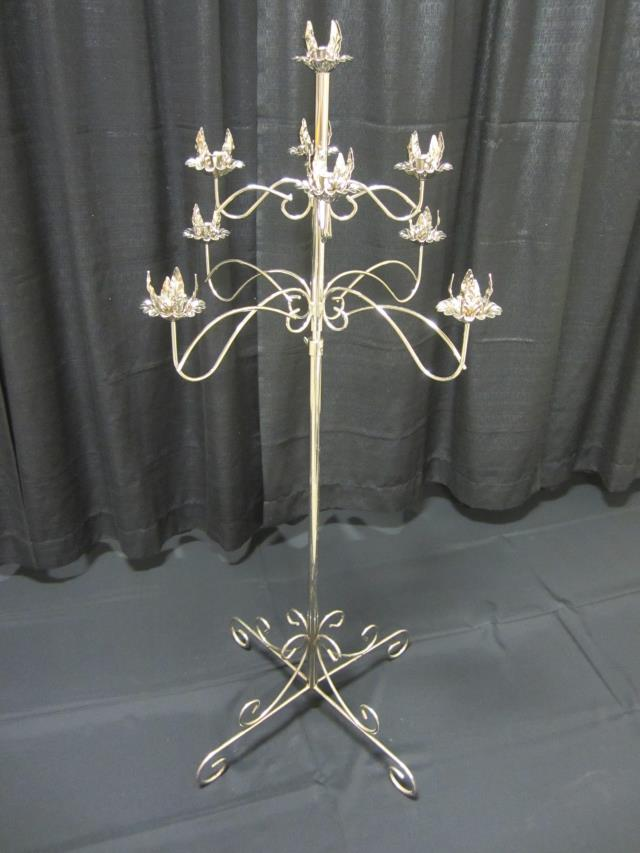 Where to find 9 LIGHT SILVER TREE CANDELABRA in Longview