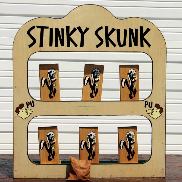 Where to find STINKY SKUNK in Longview