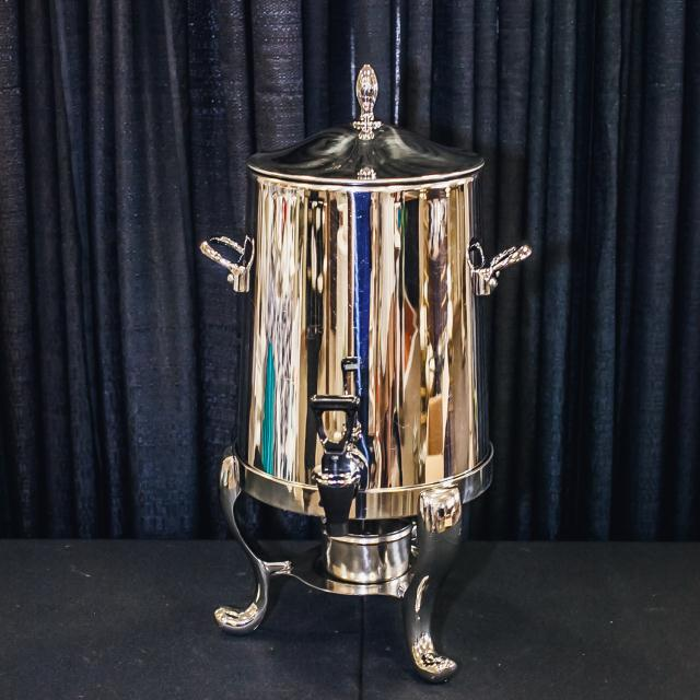 Where to find 3 GALLON SILVER PLATE COFFEE URN in Longview