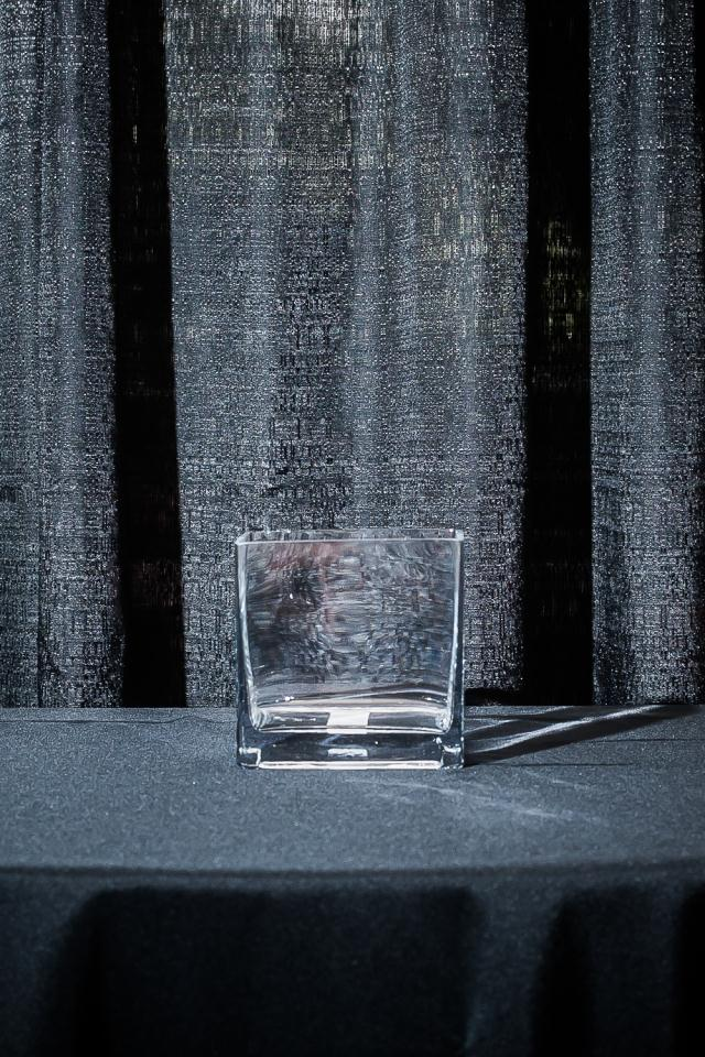 Where to find 6  SQUARE GLASS VASE in Longview