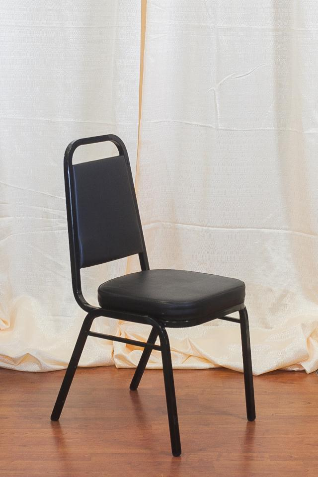 Where to find BLACK STACK PADDED CHAIR in Longview