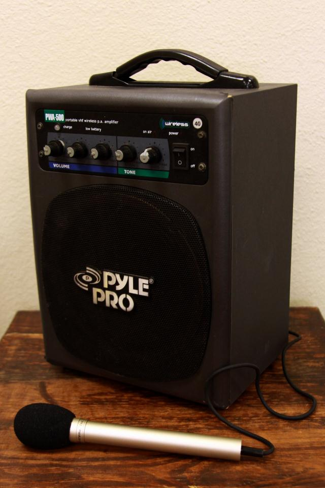 Where to find MEDIUM PORTABLE PA in Longview