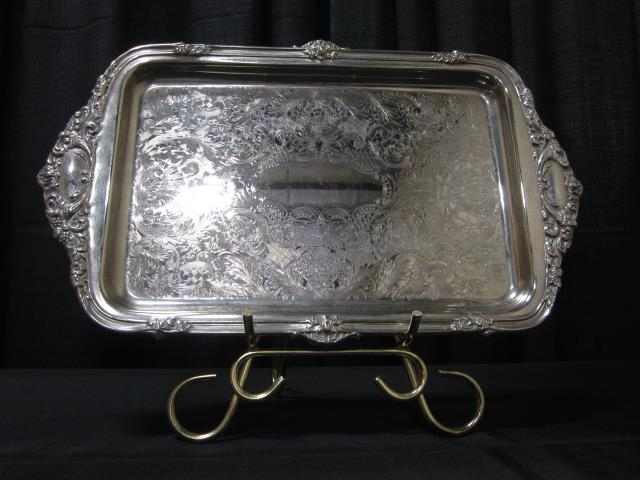 Where to find 10  X 17  RECT SILVER TRAY in Longview
