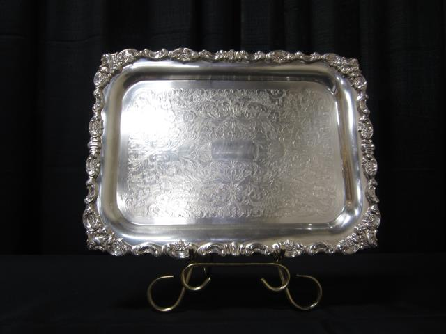 Where to find 12  X 16  RECT SILVER TRAY in Longview