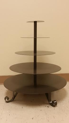 Where to find 5 TIER BRONZE CUPCAKE STAND in Longview