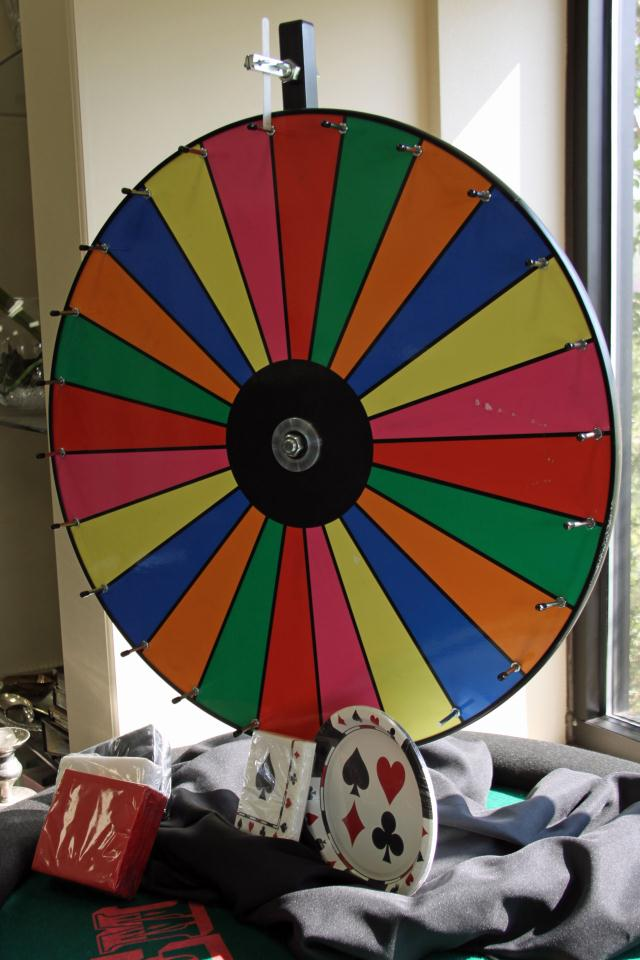 Where to find COLOR CASINO WHEEL in Longview
