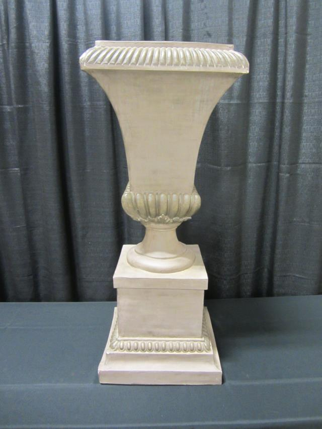 Where to find 44  TAUPE PEDESTAL URN in Longview