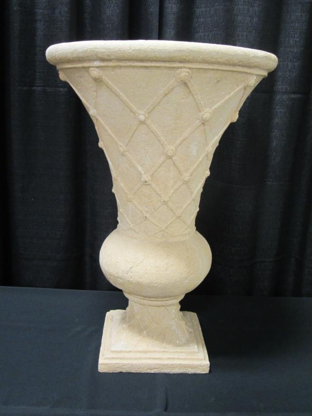 Where to find 29  SAND STONE BASKETWEAVE URN in Longview