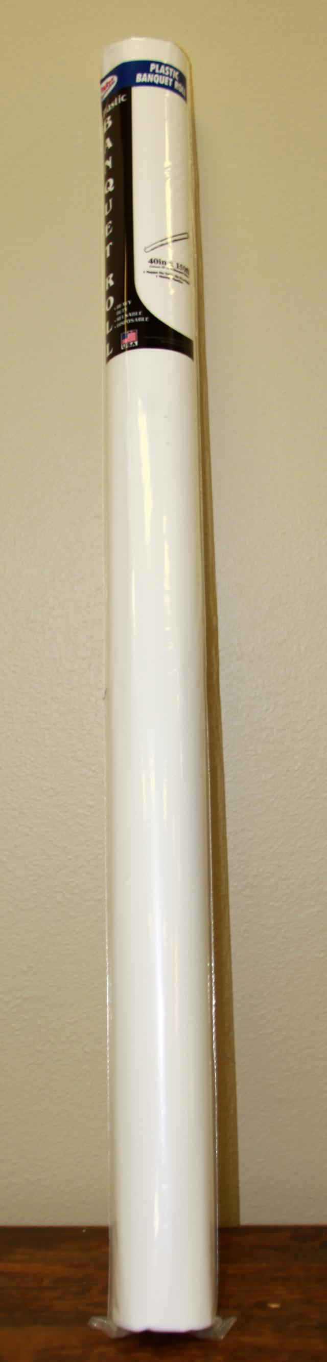 Where to find 40 X150  WHITE PLASTIC ROLL in Longview
