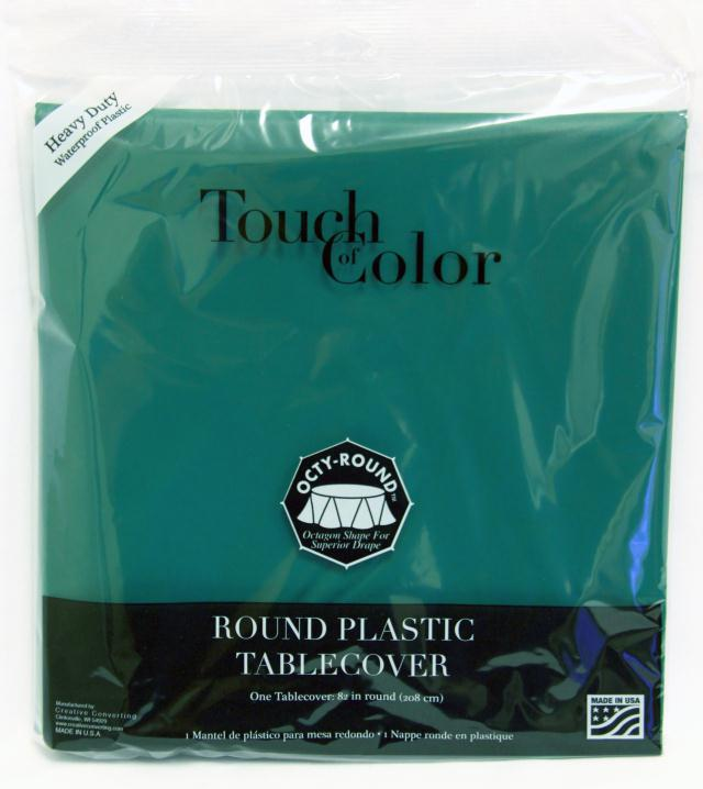 Where to find RD TROPICAL TEAL PLASTIC TABLECOVER in Longview