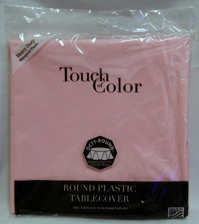 Where to find RD PINK PLASTIC TABLECOVER in Longview