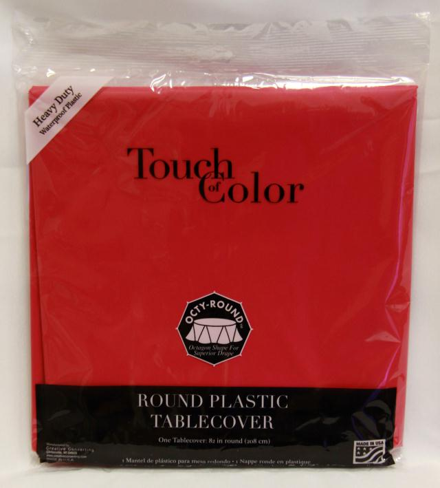 Where to find RD RED PLASTIC TABLECOVER in Longview
