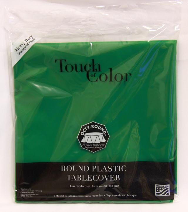 Where to find RD GREEN PLASTIC TABLECOVER in Longview