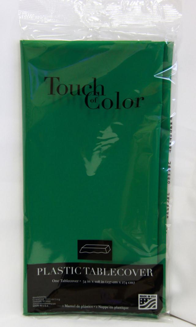 Where to find RECT GREEN PLASTIC TABLECOVER in Longview