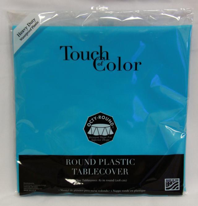 Where to find RD BERMUDA BLUE PLASTIC TABLECOVER in Longview