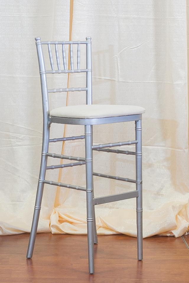 Where to find SILVER CHIAVARI BARSTOOL CHAIR in Longview
