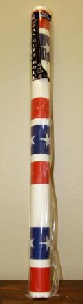 Rental store for 40 X150  PATRIOTIC PLASTIC ROLL in Longview TX
