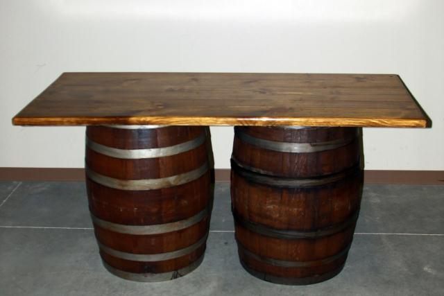 Where to find 6  RECT WINE BARREL TABLE in Longview