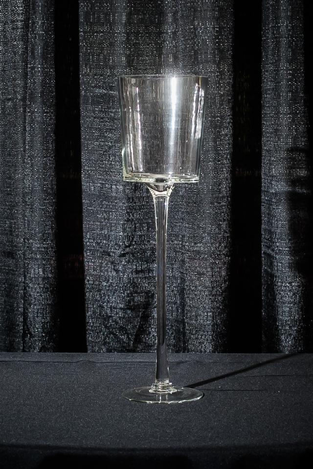Where to find 20  STEMMED GLASS CANDLE HOLDER in Longview