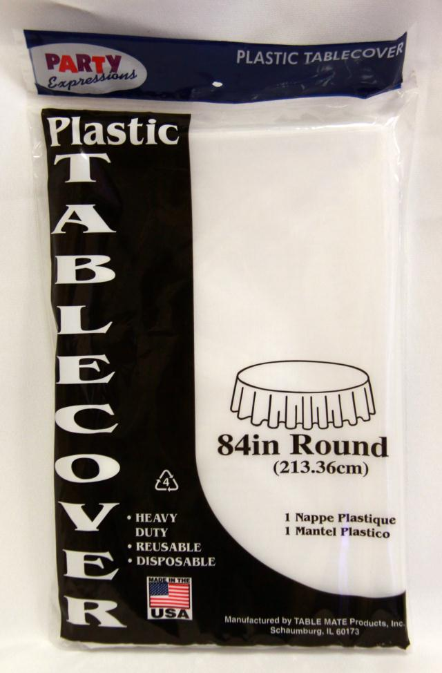 Where to find RD CLEAR PLASTIC TABLECOVER in Longview