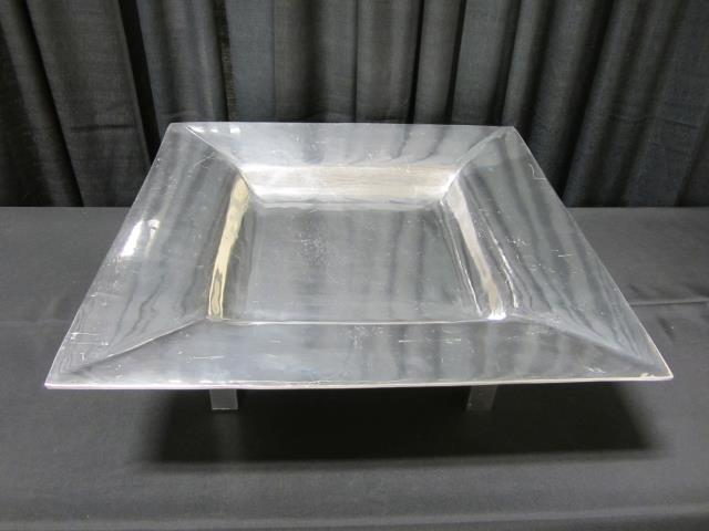 Where to find __27  ALUMINUM SQUARE TRAY W  STAND in Longview
