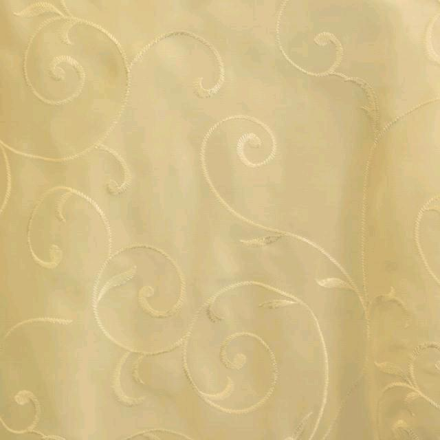Where to find IVORY SWIRL ORGANZA LINENS in Longview