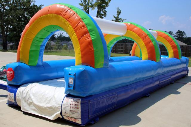 Where to find RAINBOW MOONWALK SLIDE - 30 FEET in Longview