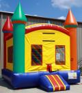 Where to rent MULTI-COLORED CASTLE MOONWALK in Longview TX