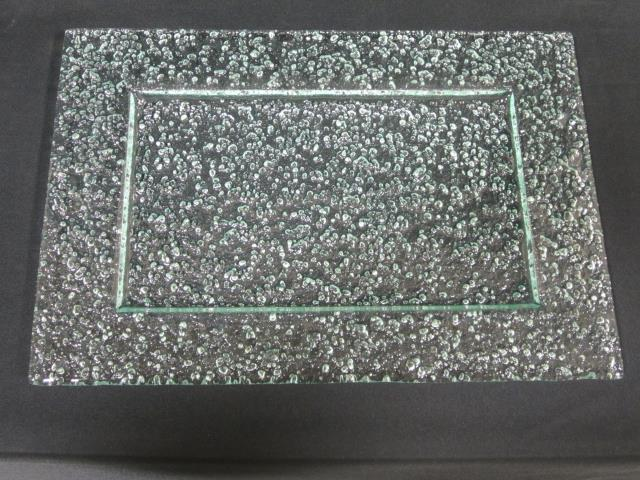 Where to find 16  RECT EMBOSSED GLASS PLATTER in Longview