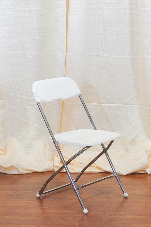 WHITE PLASTIC FOLDING CHAIR Rentals Longview TX Where To Rent WHITE PLASTIC